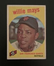 Vintage 1959 Topps Willie Mays #50  - San Francisco Giants
