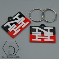 SOO Line Railroad Railway Keychain Pack of 2