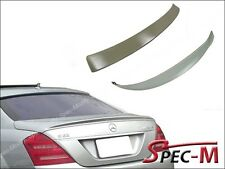 AMG Trunk Spoiler Roof Lip Fit W221 S400 S430 S500 S550 S63 07-13 Iridium Silver