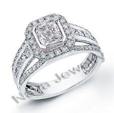 2.02 Ct. Princess Cut Diamond Engagement Rings