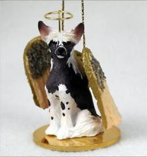 CHINESE CRESTED  ANGEL DOG CHRISTMAS ORNAMENT HOLIDAY Figurine
