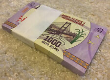 More details for madagascar banknote bundle. 100 x 1000 ariary. uncirculated. 2017 series.