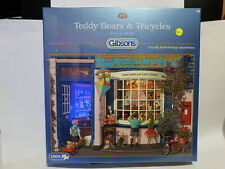 Gibsons G6225 Teddy Bears and Tricycles Steve Read 1000 pce jigsaw puzzle BNIB