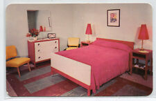 Cabin Bedroom Interior Fernwood Resort Bushkill Pennsylvania postcard