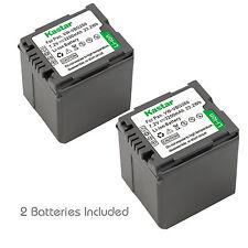 2x Kastar Battery for Panasonic VW-VBG260 HDC-SD9 HDC-SD10 HDC-SD100 HDC-SD20