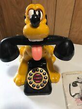 Vintage Official Disney Talking Pluto Home Phone