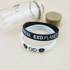 2 PCS Supporter Wristband EXO-K FROM EXO PLANET KPOP EXO Wristband Bracelet OZ