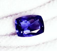 Loose Gemstone Natural Tanzanite 9.96 Ct Certified