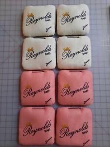 Cornhole Bags (8 Brand New Reynolds Demons - White/Pink)