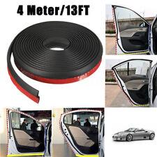 4M 160'' Z-Shape Rubber Seal Weather Strip For Car Truck Motor Window Edge Door