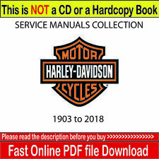 Harley Davidson Workshop Service manual Collection Library over 960 manuals