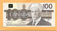 1988 CANADIAN 100 DOLLAR BILL B/J/G1051308 (CIRCULATED)