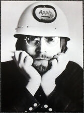 THE BEATLES POSTER PAGE . 1969 JOHN LENNON & APPLE HARD HAT HELMET . E11