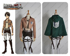Attack on Titan Shingeki no Kyojin Scouting Legion Eren Jaeger Cosplay Costume