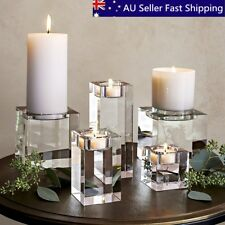 Modern candle holders accessories with tabletop ebay 7 sizes modern elegant crystal candle holders tealight stand wedding table decor junglespirit Choice Image