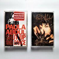 Paula Abdul Cassettes 1990 Shut Up And Dance & 1991 Spellbound Virgin Records