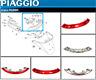 Feu Arriere Complet * pour Piaggio X8 125 150 200 250 Xevo 400 (584210)