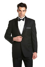 CONCITOR Men's Suit Jacket Separate Blazer Coat Tux Solid Color 2 Button Design