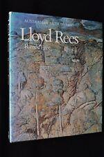 LLOYD REES BY RENEE FREE AUSTRALIAN PAINTER ARTIST SIGNED BOOK 1972