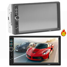 7 Inch HD 1080P DOUBLE 2DIN Car MP5 Player BT Touch Screen Stereo Radio