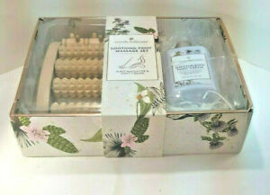 Wendy Bellissimo™ Foot Massager & Foot Cream Gift Set Foot Roller ~ Brand New