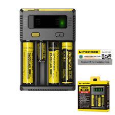 Nitecore 2018 i4 Universal Vape Battery Charger 20700 26650 18650 16340 Battery