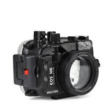 Seafrogs 40m Unterwasser Tauchen Gehäuse Case Für Canon EOS M6 22mm Objektiv