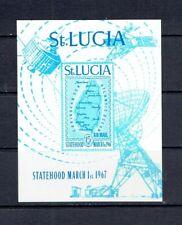 ST. LUCIA - 1967 INDEPENDENCE SOUVENIR SHEET - SCOTT C1 - MNH