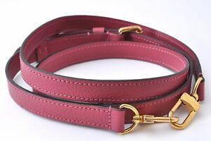 """Authentic Louis Vuitton Leather Shoulder Strap Pink 50-55.1"""" LV A5984"""