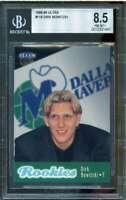 Dirk Nowitzki Rookie Card 1998-99 Ultra #118 BGS 8.5