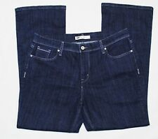 Levis 515 Boot Cut Denim Jeans  38W x 29L Dark Blue Womens 14S (Act. 36W x 30L)