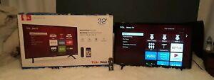 """TCL  32"""" HD LED Smart Roku TV 32S335"""