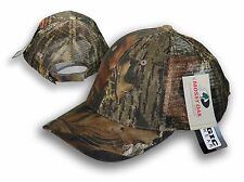 Mossy Oak Mesh Snap Back Hat Cap Camo hunter hunting NEW