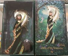 2007 Mattel Bob Mackie Lady Of The Unicorns Barbie Gold Label Barbie Collector