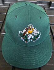 Vintage 90s Southern Oregon Timberjacks New Era Pro Model Hat USA Made 100% Wool