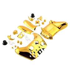 New Wireless Controller Shell +Button Chrome Gold Repair Parts For Xbox One