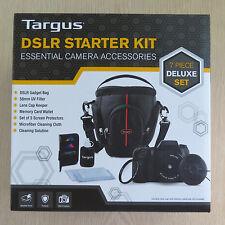Targus DSLR Starter Kit 7 Piece Essential Camera Accessories - Brand New, Seald