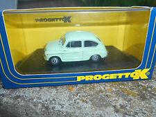 Progetto K FIAT 600d Scioneri 1960 Scala 1\43 PK 230a