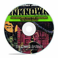 Adventures Into The Unknown, 174 Issues, Full Run, Old Golden Age Comics DVD C74