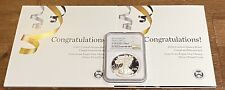 2021 W $1 NGC PF70  PROOF  AMERICAN SILVER EAGLE CONGRATULATIONS SET BROWN LABEL