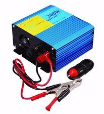 300W Pure Sine Wave Power Inverter Grid Tie Solar 12V DC~220V AC Laptop Fridge