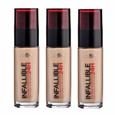 9 X L'OREAL INFALLIBLE STAY FRESH 24HR LIQUID FOUNDATION MAKEUP  ❤  235 HONEY