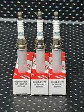 GENUINE TOYOTA AYGO 1.0L SPARK PLUGS DENSO IRIDIUM PLUGS 90919-01275 SC16HR11