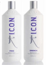I.C.O.N. ICON Drench Shampoo & Free Conditioner Set 33.8 oz 1L Duo Moisturizing