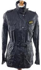 NEW BARBOUR INTERNATIONAL DURALINEN  jacket PU COATED UK 10 US 6 D 36 UNWORN