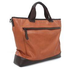 Genuine Leather Man  Briefcase Man Business Bags Man Bags Men's Bag B5055 Tbrown