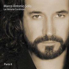 La Historia Continúa..., Vol. 2 by Marco Antonio Solís (CD, May-2005,...