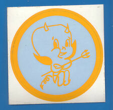 1970's Original N/Mint Brisbane Rugby League Norths Devils Sticker UnStuck QRL
