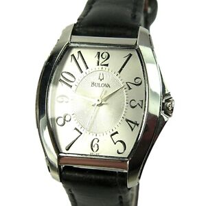 BULOVA women's watch Model C899171 Rounded Rect. w/ Lt. Silver Dial (SEE VIDEO)