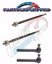 2009-2013 TOYOTA COROLLA STEERING TIE ROD END INNER & OUTER SET MATRIX 1.8L 2.4L